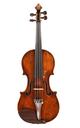 Auguste Sébastien Philippe Bernardel (Bernardel Père): Fine violin No. 8, 1827 (certificate Hieronymus Köstler, Hamma & Co. Stuttgart)