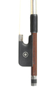 Silver mounted German viola bow, active and strong