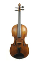 WORKED OVER AND IMPROVED: Johann Georg Schönfelder: fine Markneukirchen violin, c1790