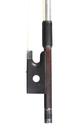 Fine H. R. Pfretzschner violin bow, silver mounted - masterpiece