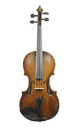 Czech master violin of quality, approx. 1880 - recommended by professional