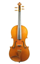 Powerful 1930's Markneukirchen violin, Guarnerius model - birdseye maple