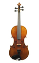 Antique Saxon violin with a warm, dark tone, approx. 1930
