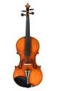 Antique German violin from Saxony, classical model, approx. 1880