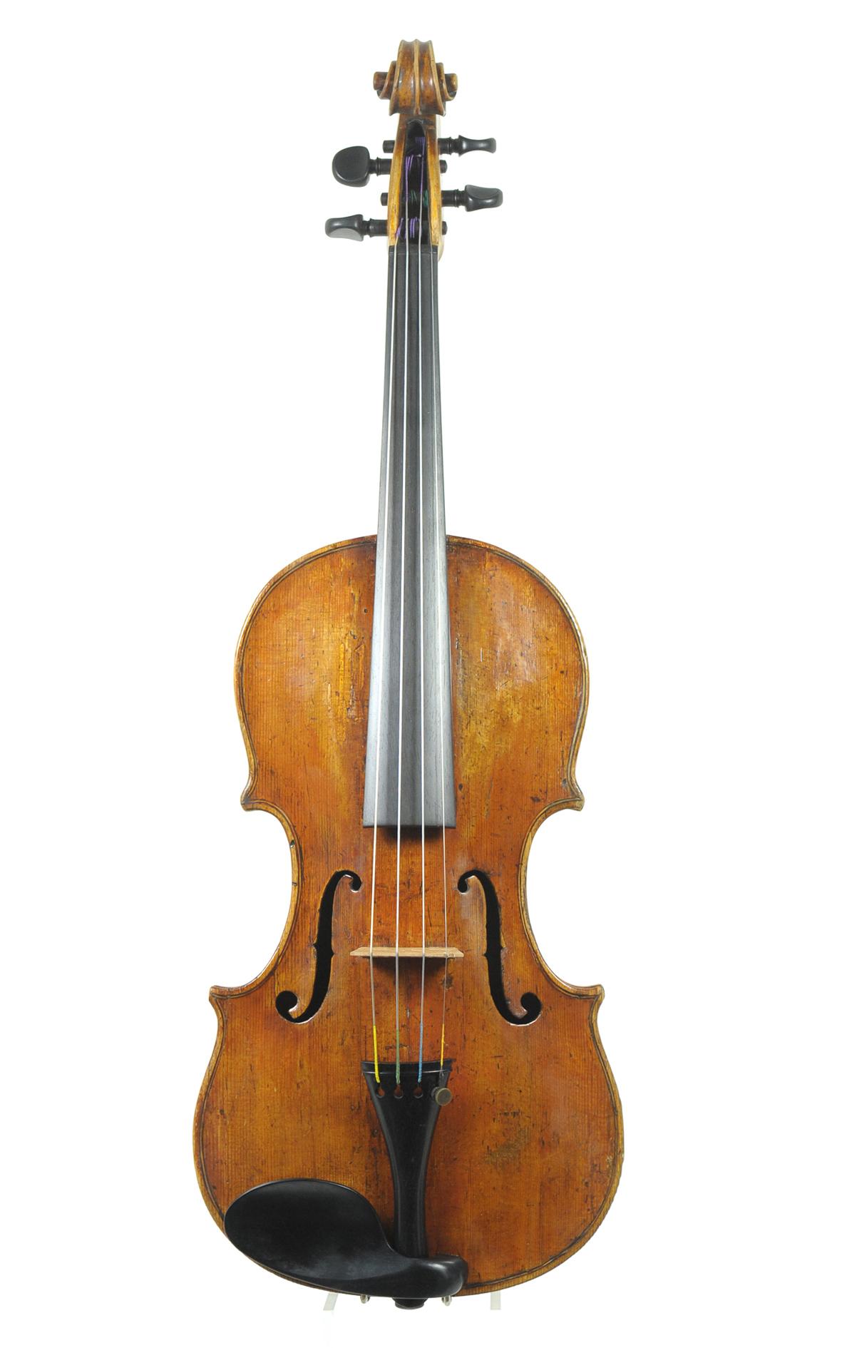 Fine 18th century Italian violin by Giulio Cesare Gigli, Rome c.1760 ...