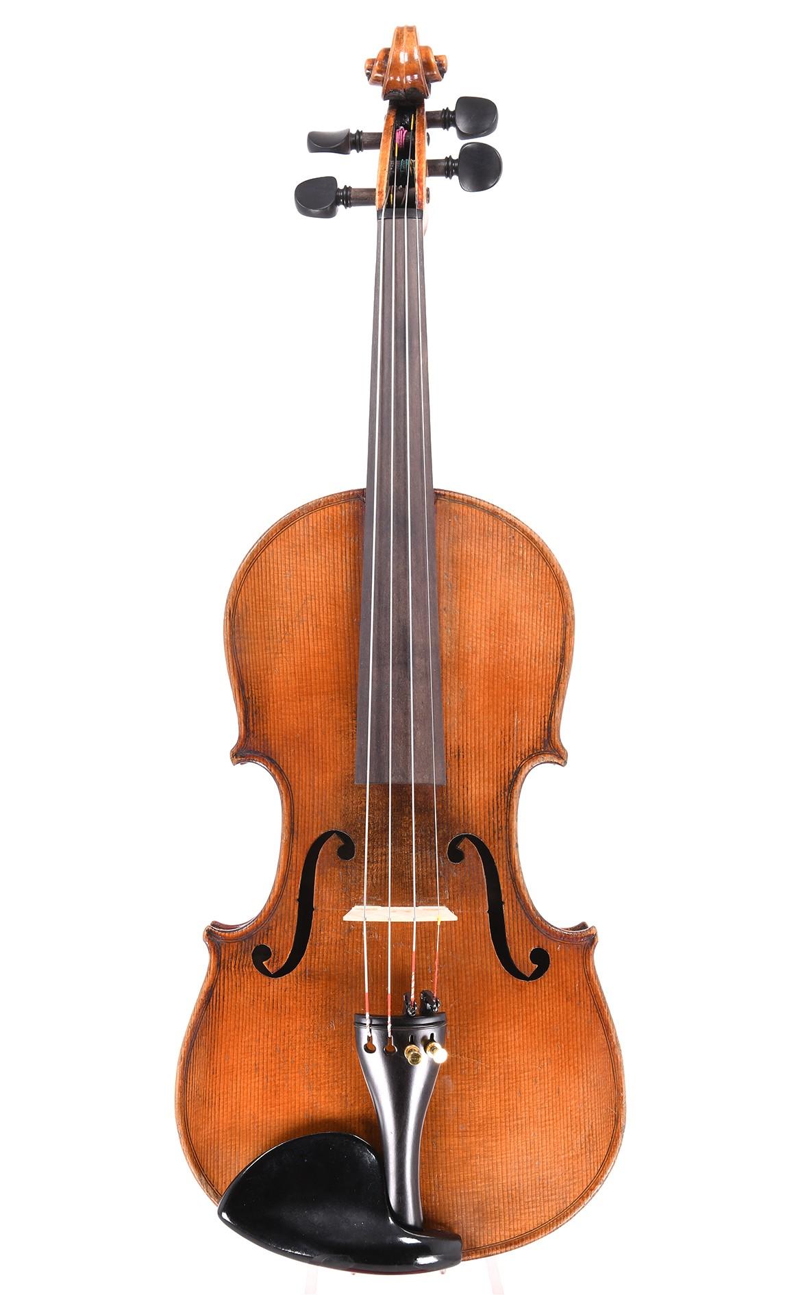 3/4 Geige aus Markneukirchen, Stradivari Modell, gebaut um 1920