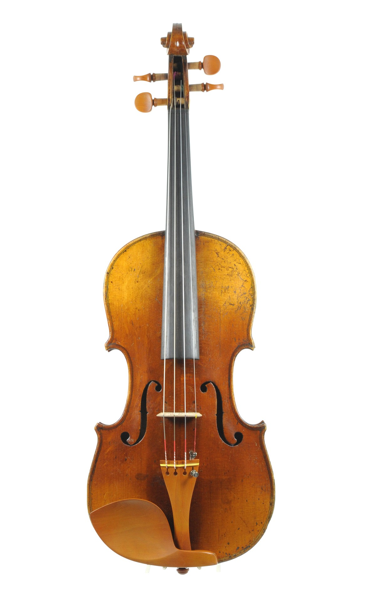 Hopf violin, Klingenthal approx. 1850 - top view
