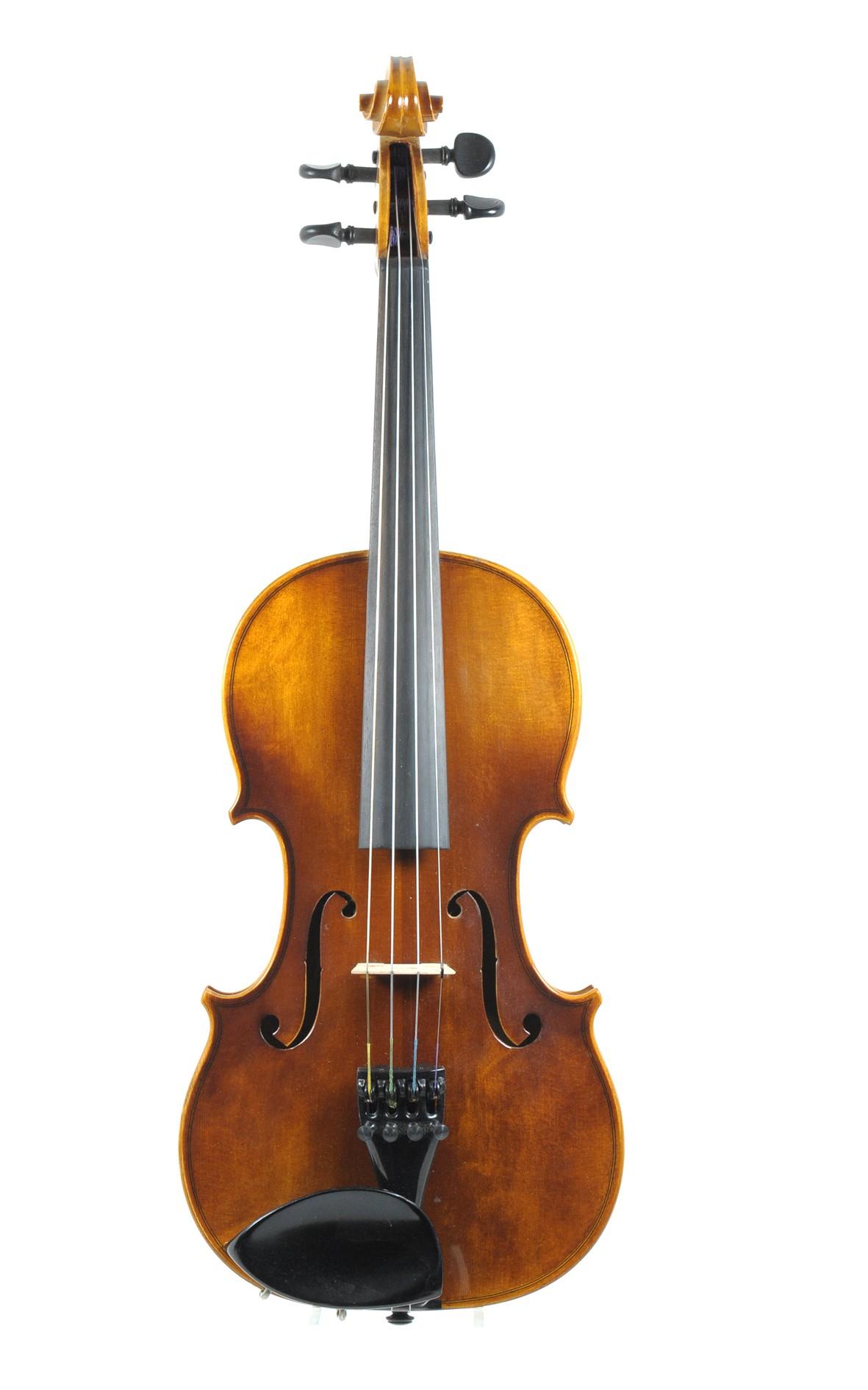 Karl Höfner 1983 violin - top view