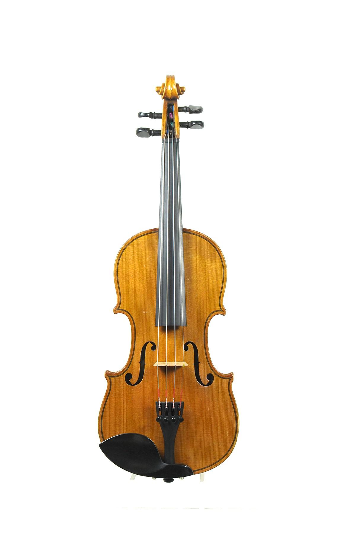 Antique 1/4  violin - Old German quarter-sized violin