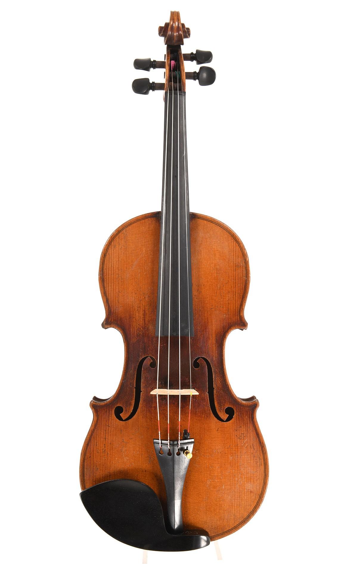 Französische Geige nach J. B. Vuillaume aus dem Hause Laberte