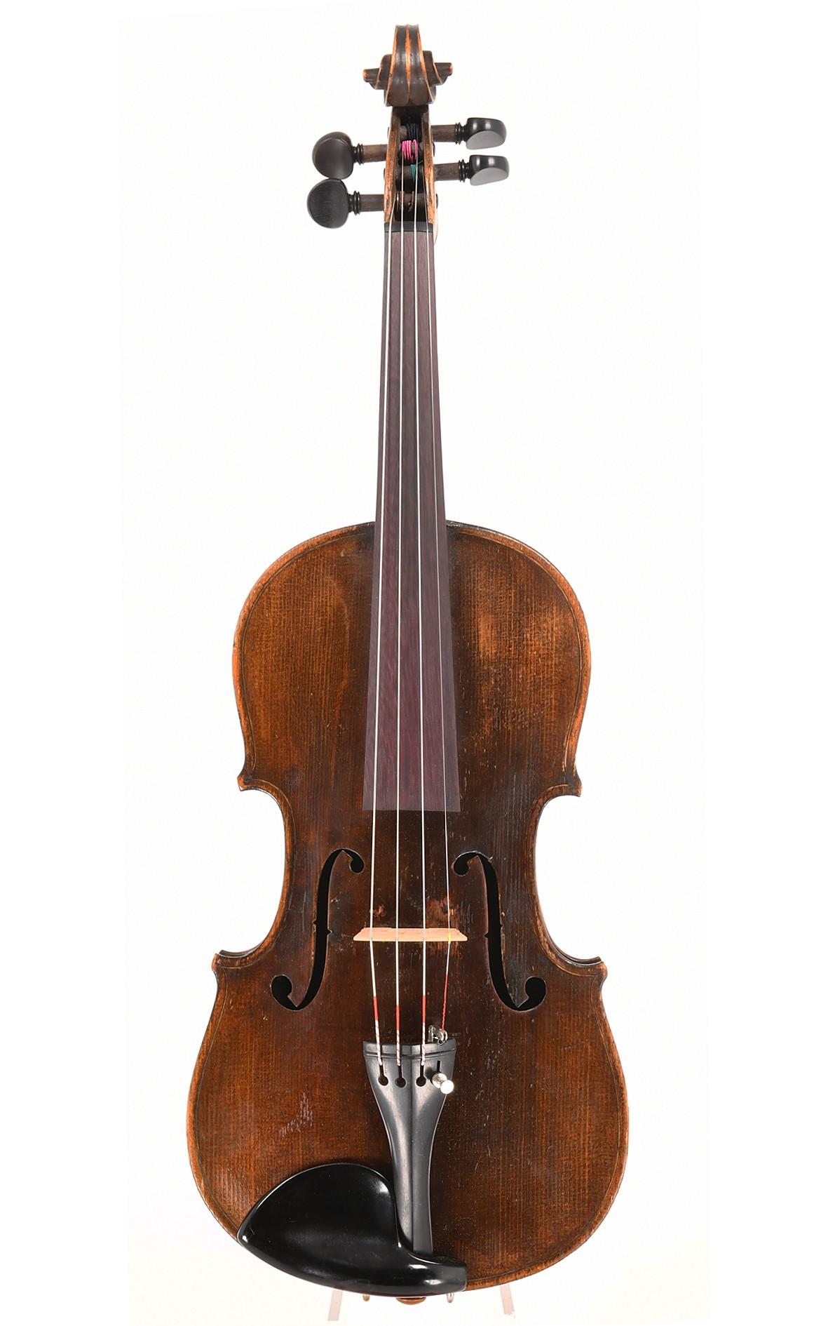 Antike böhmische Geige um 1820