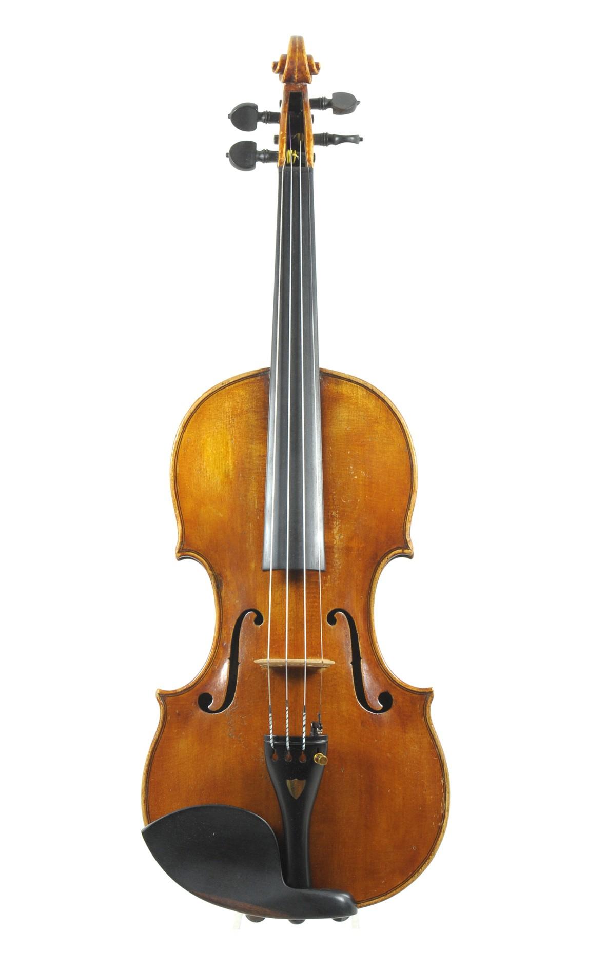 Czech violin, ca. 1900 - top