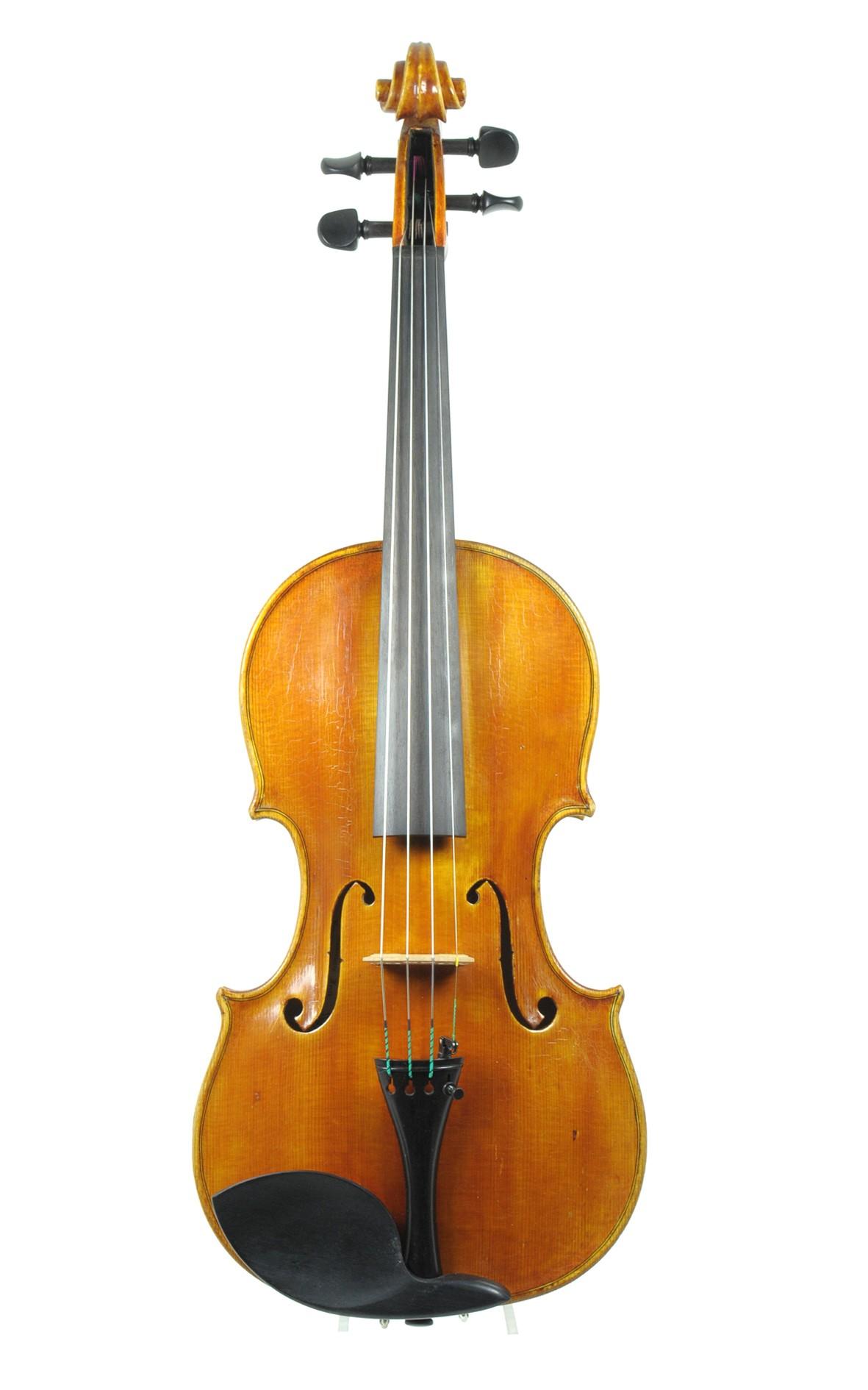 Italian violin by Sergio Maria Martinoli 1996 - top