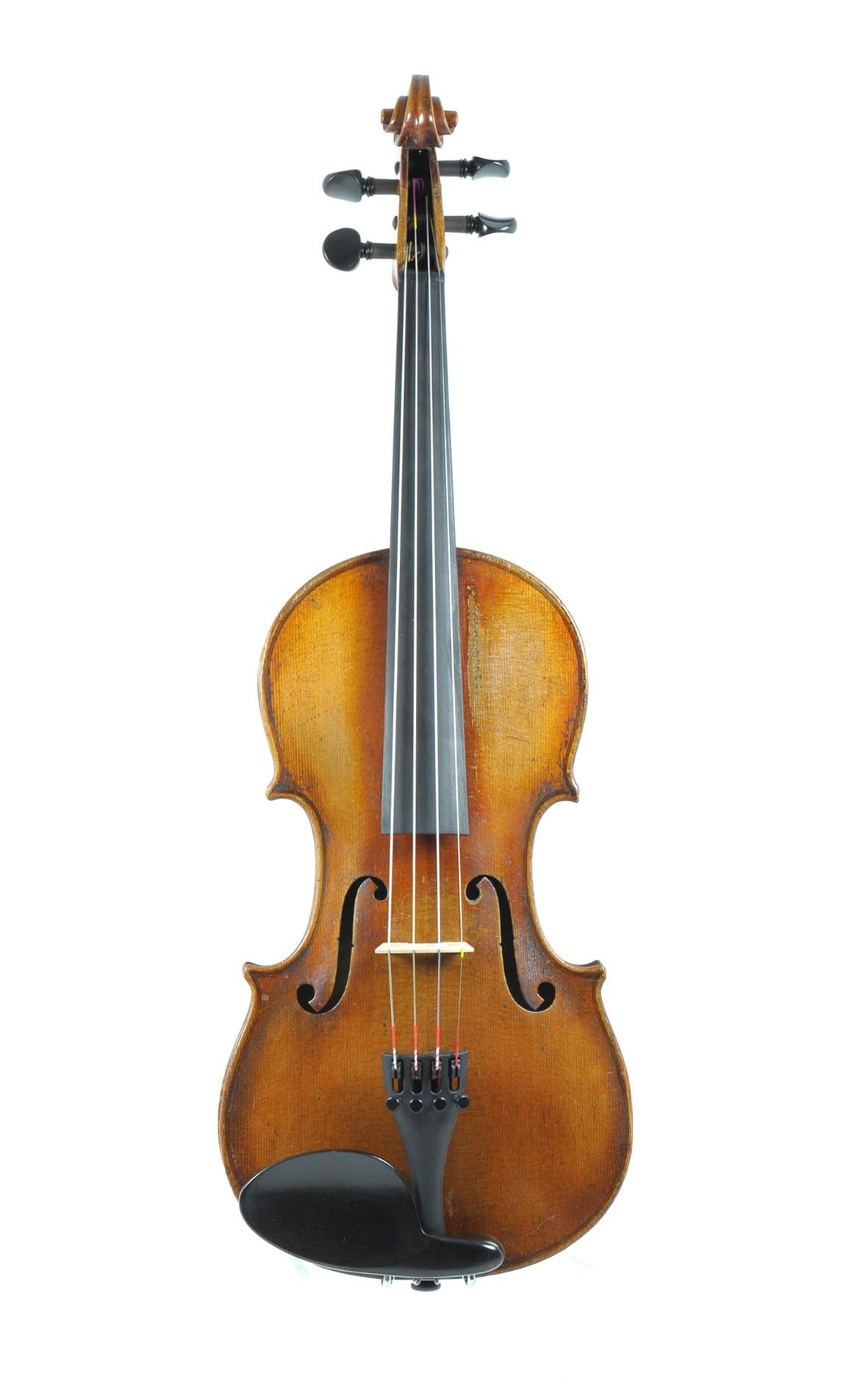 3/4 German violin approx. 1880 - top