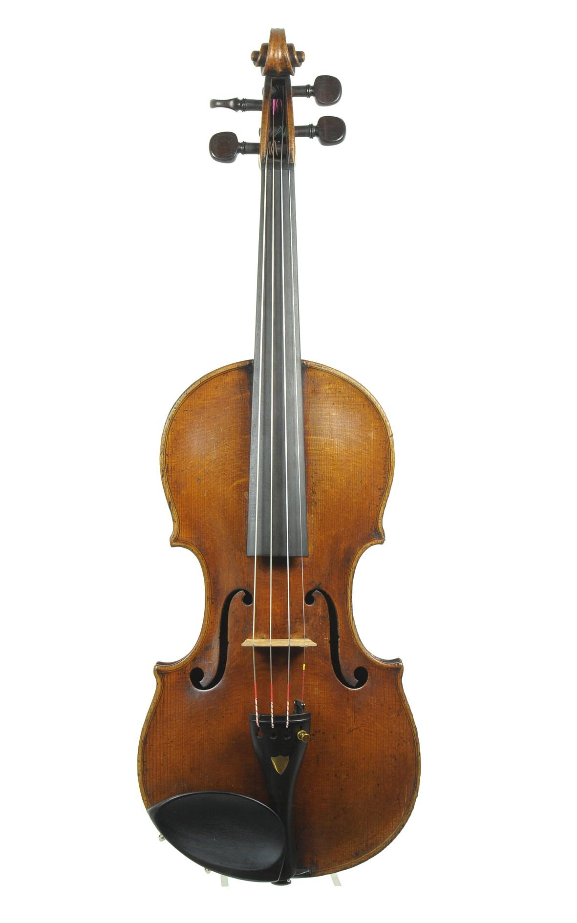 Violin, copy of Santo Serafino / Sanctus Seraphin - top