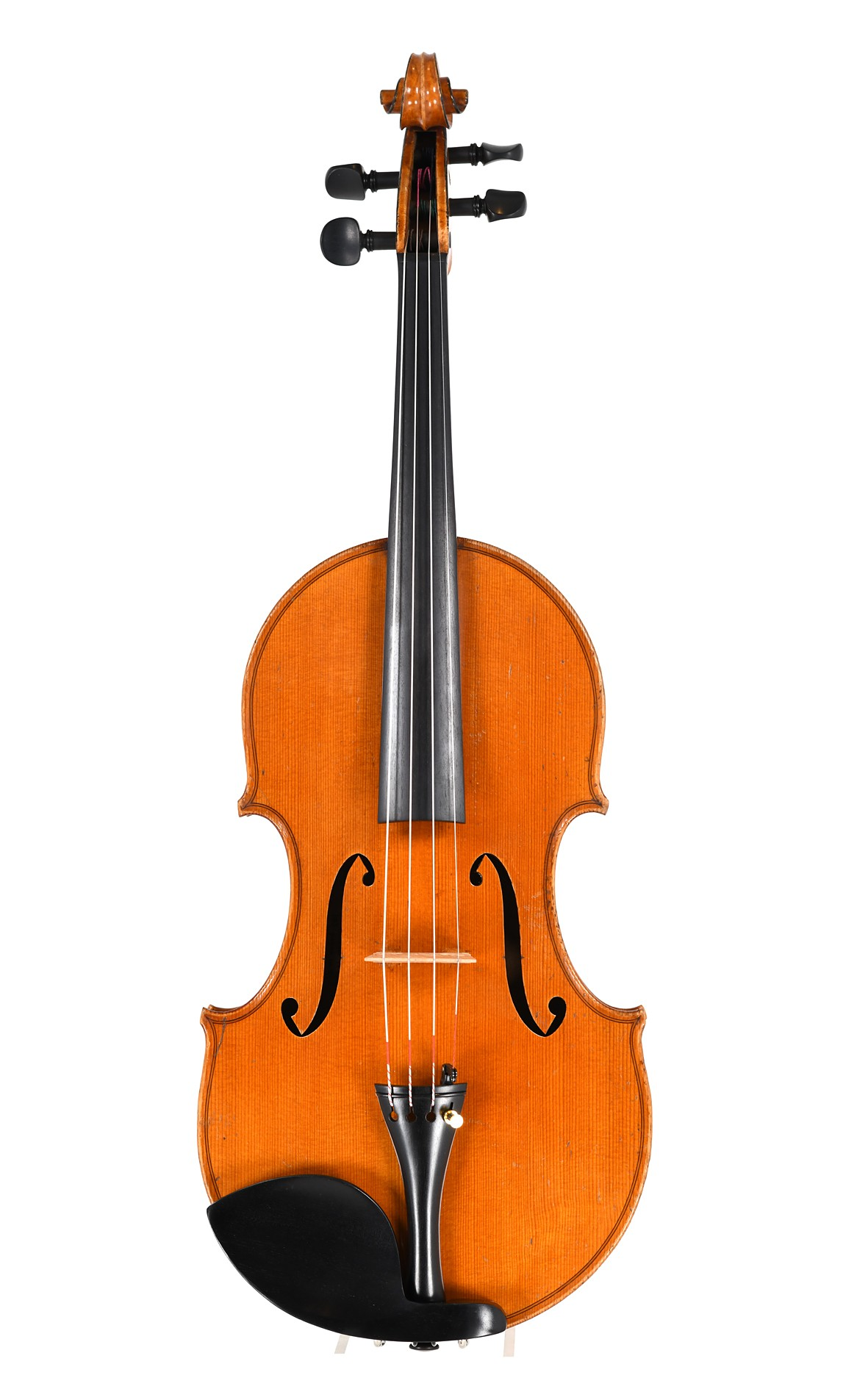 Richelme viola, late 19th century - top view