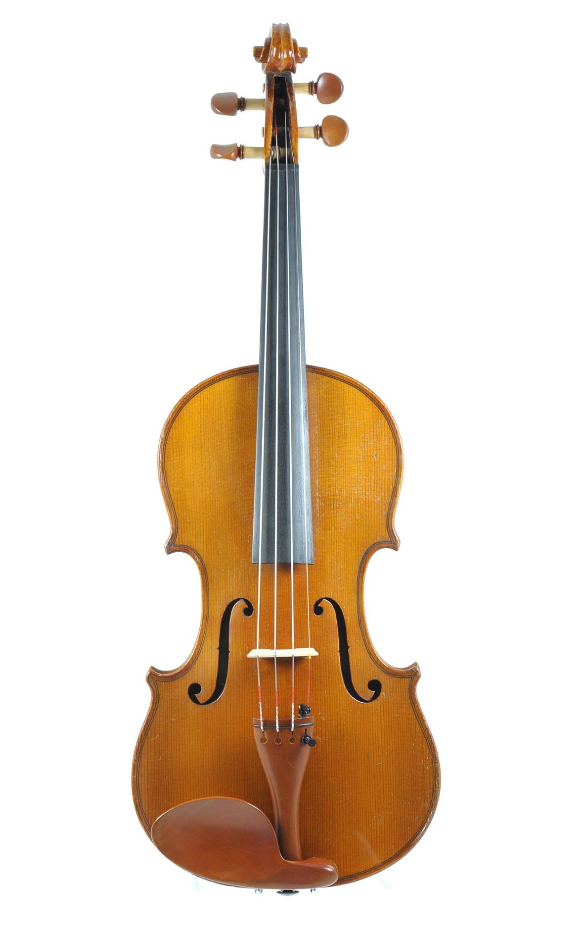 Karl Lehmpfuhl, violin ca. 1900 - top