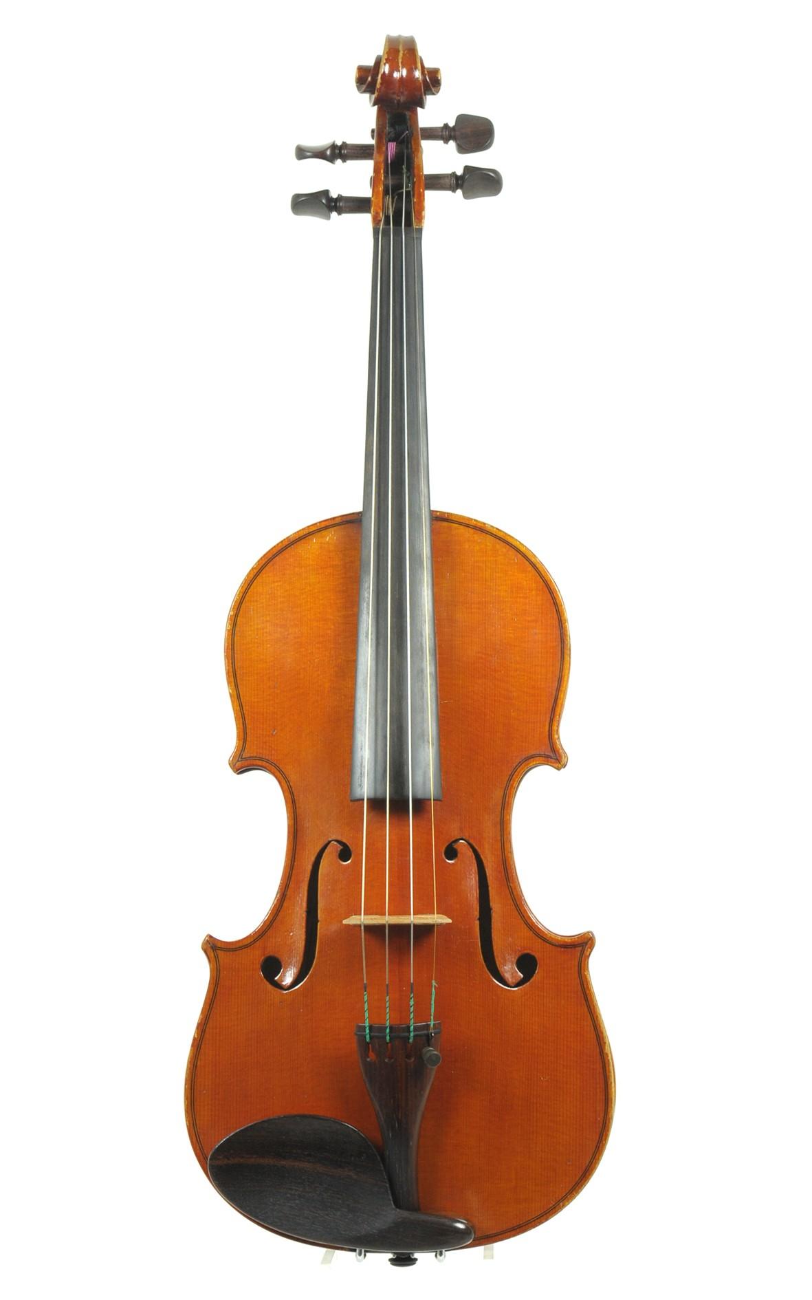 Luigi Lanaro, italienische Geige, 1975 - Decke