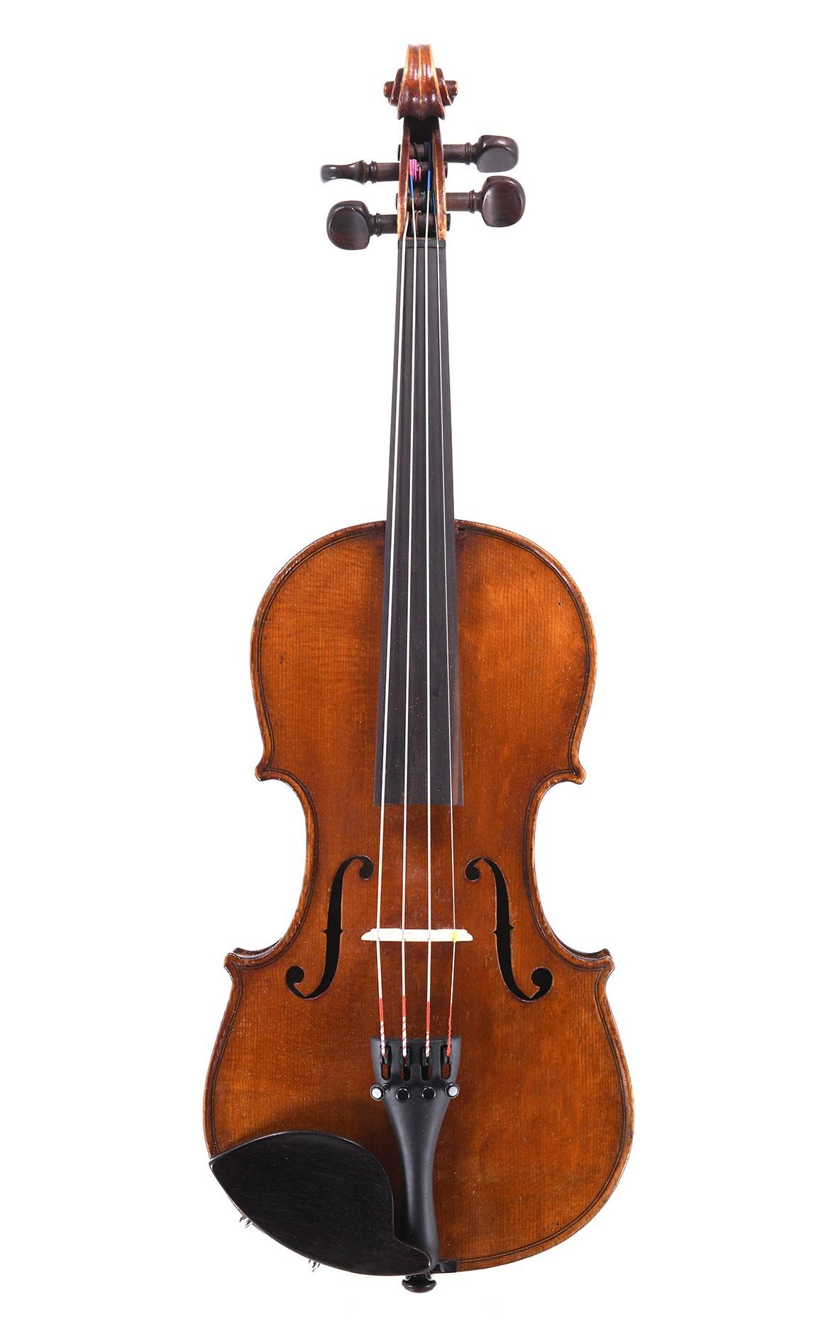 Antike 1/4 Geige aus Mittenwald, gebaut um 1850
