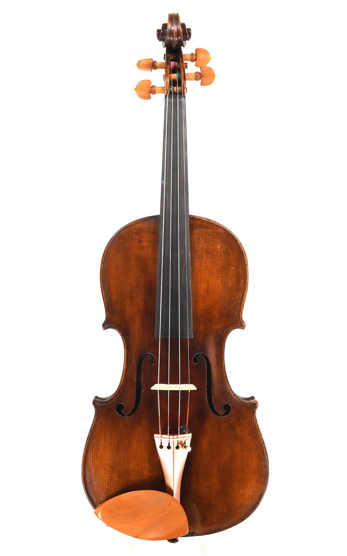 Mittenwald violin for Schandl, Stuttgart
