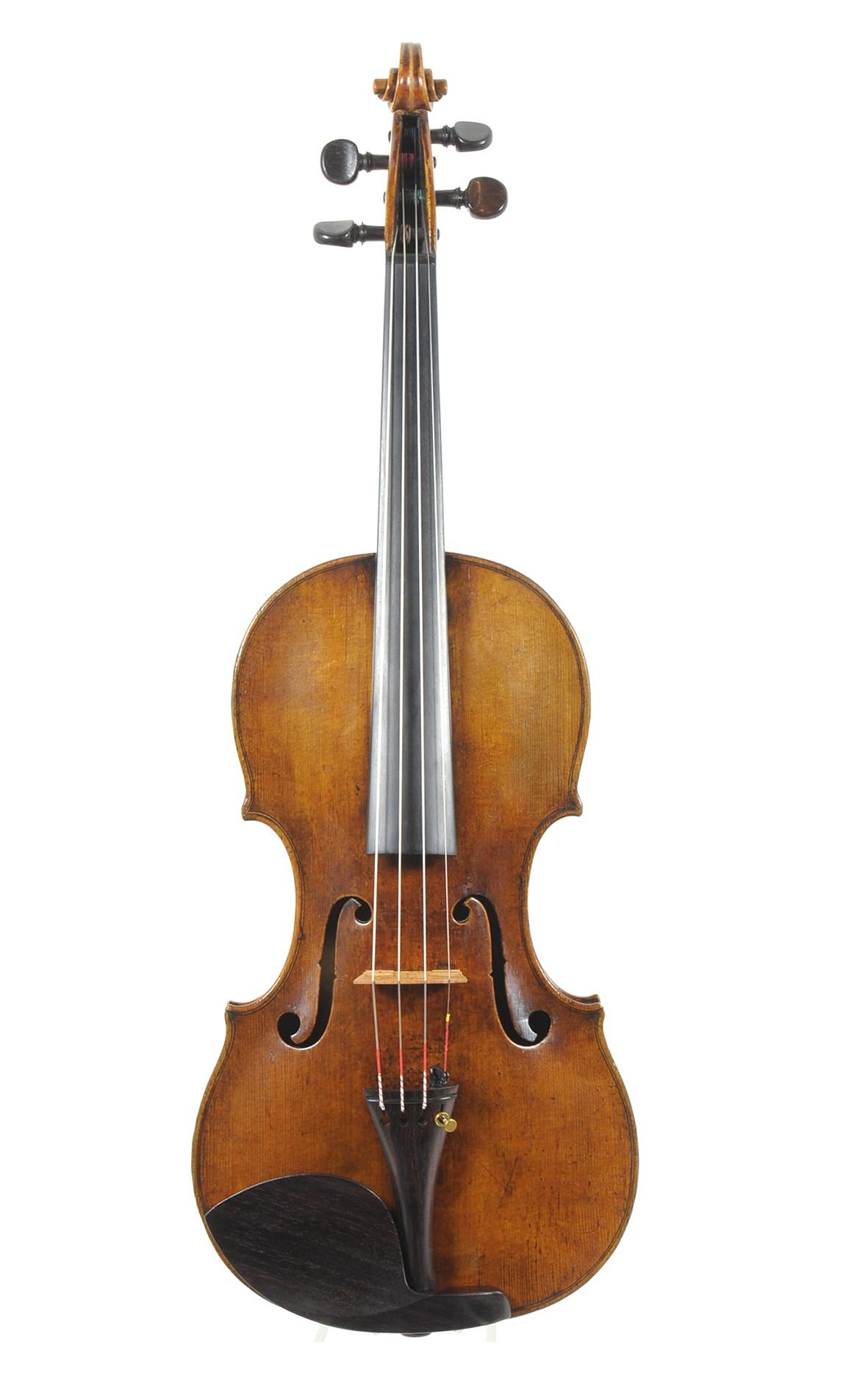 Fine stringed instruments, 18th century master violin - top