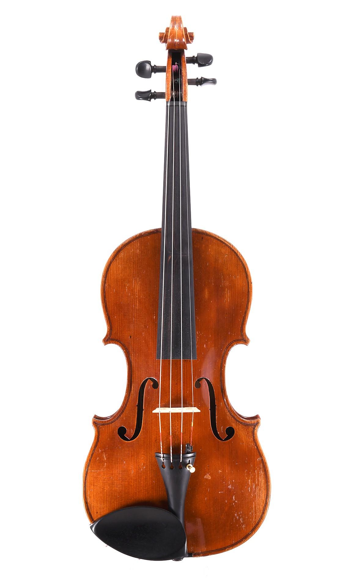 Violin by Johann Reiter / Erich Sandner workshop, Mittenwald