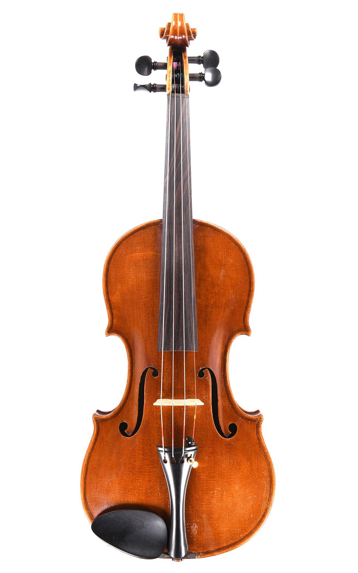 Antique Czech violin made in the Italian style
