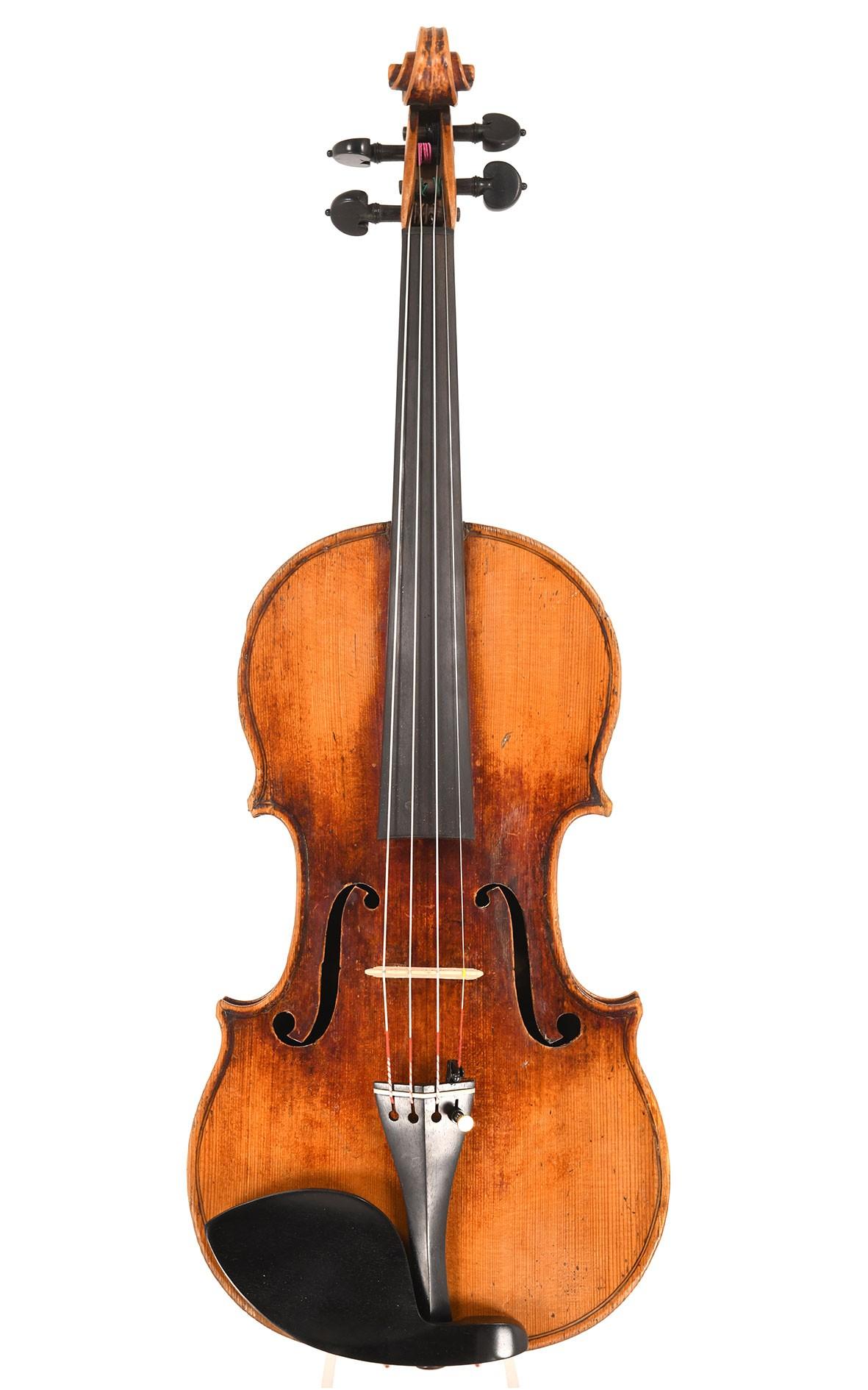 Interesting violin made by Didier Nicolas in Mirecourt around 1810