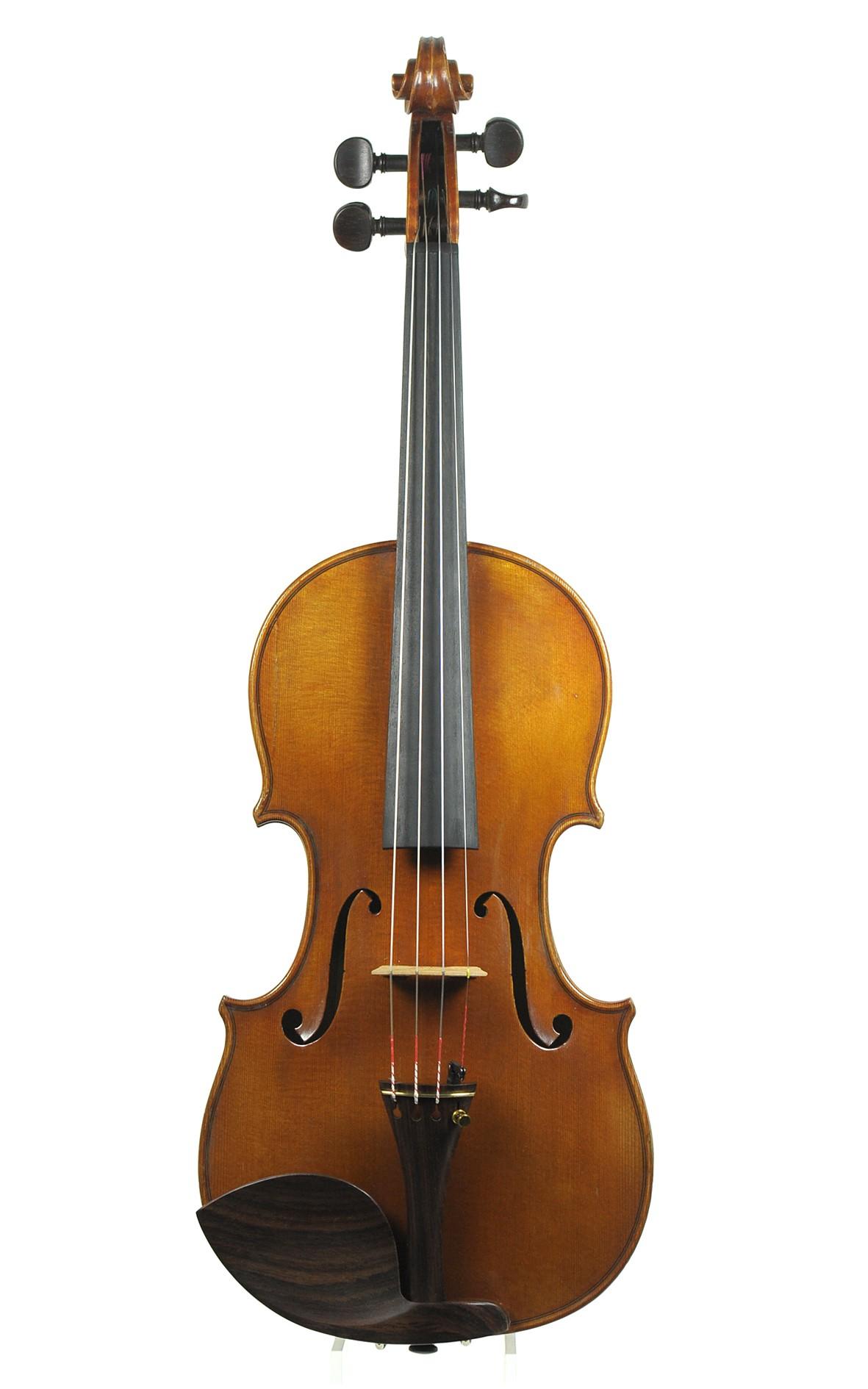 French violin No. 388 by Amédée Dieudonné, 1948 - top