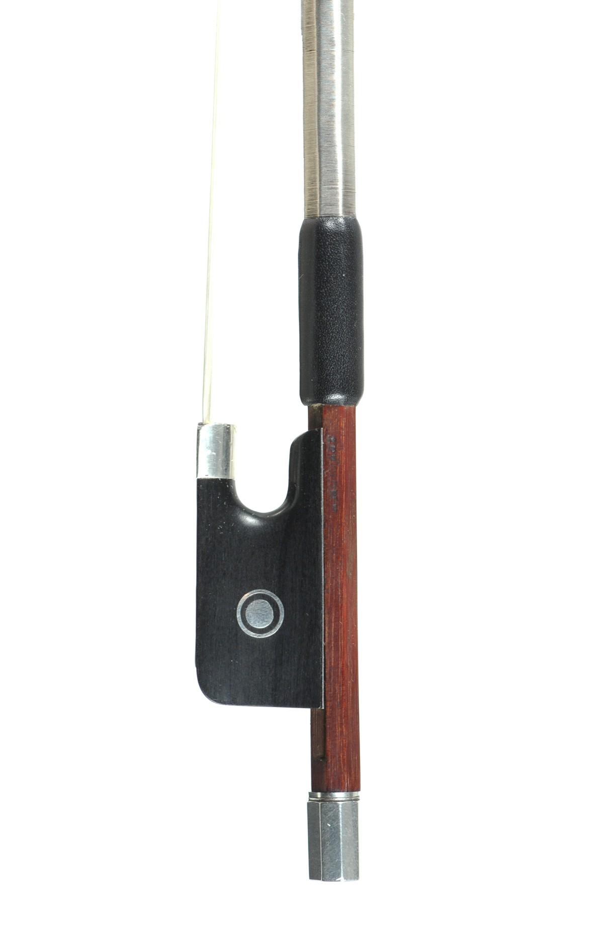 L. Morizot freres violin bow, approx. 1950 - frog