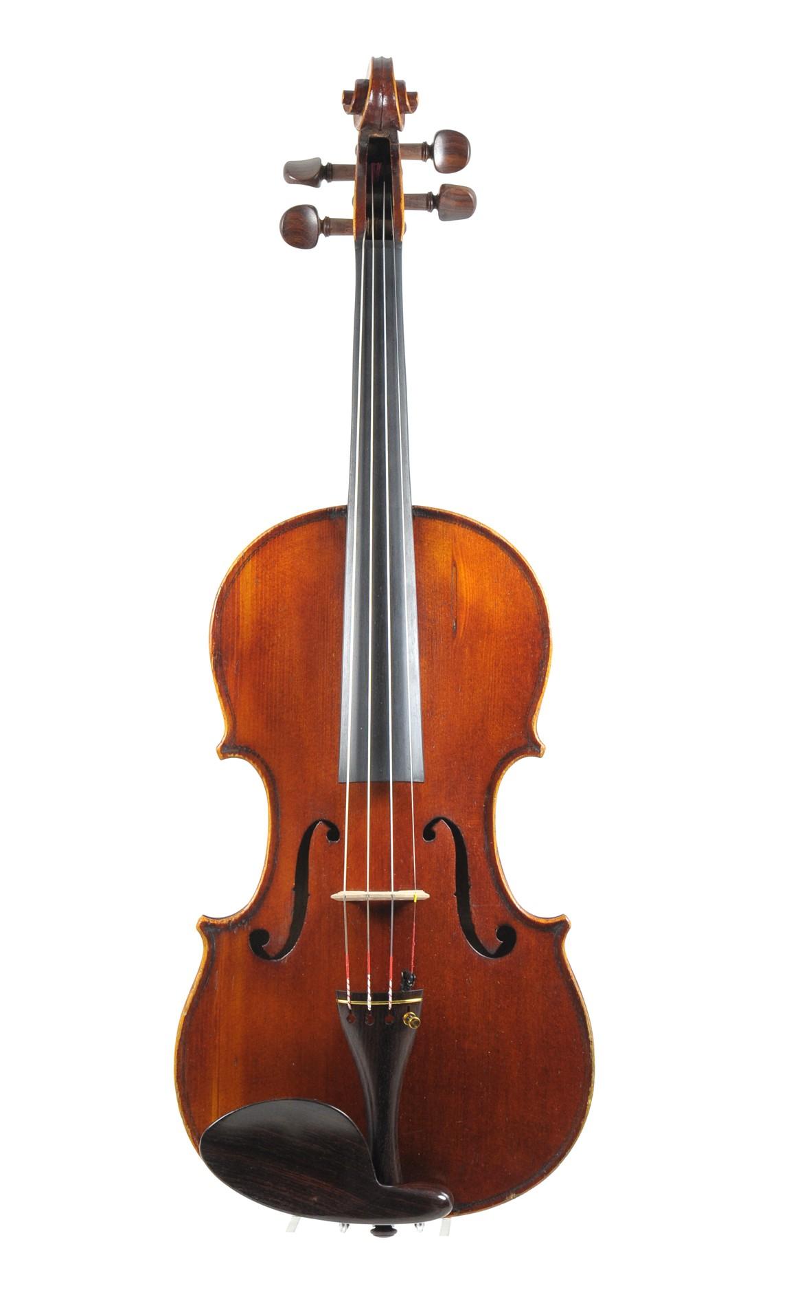 Medio Fino violin, JTL Mirecourt, approx. 1880 - top