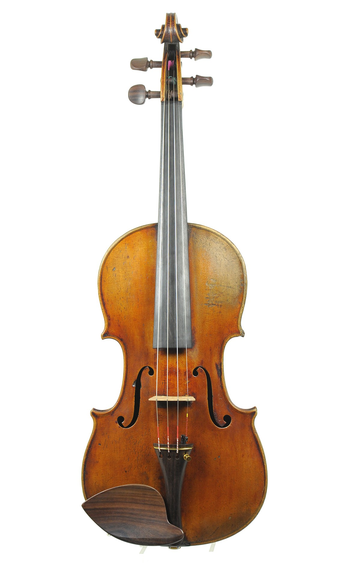 19. Jahrhundert: Feine Bayerische Violine, Amatikopie - Decke
