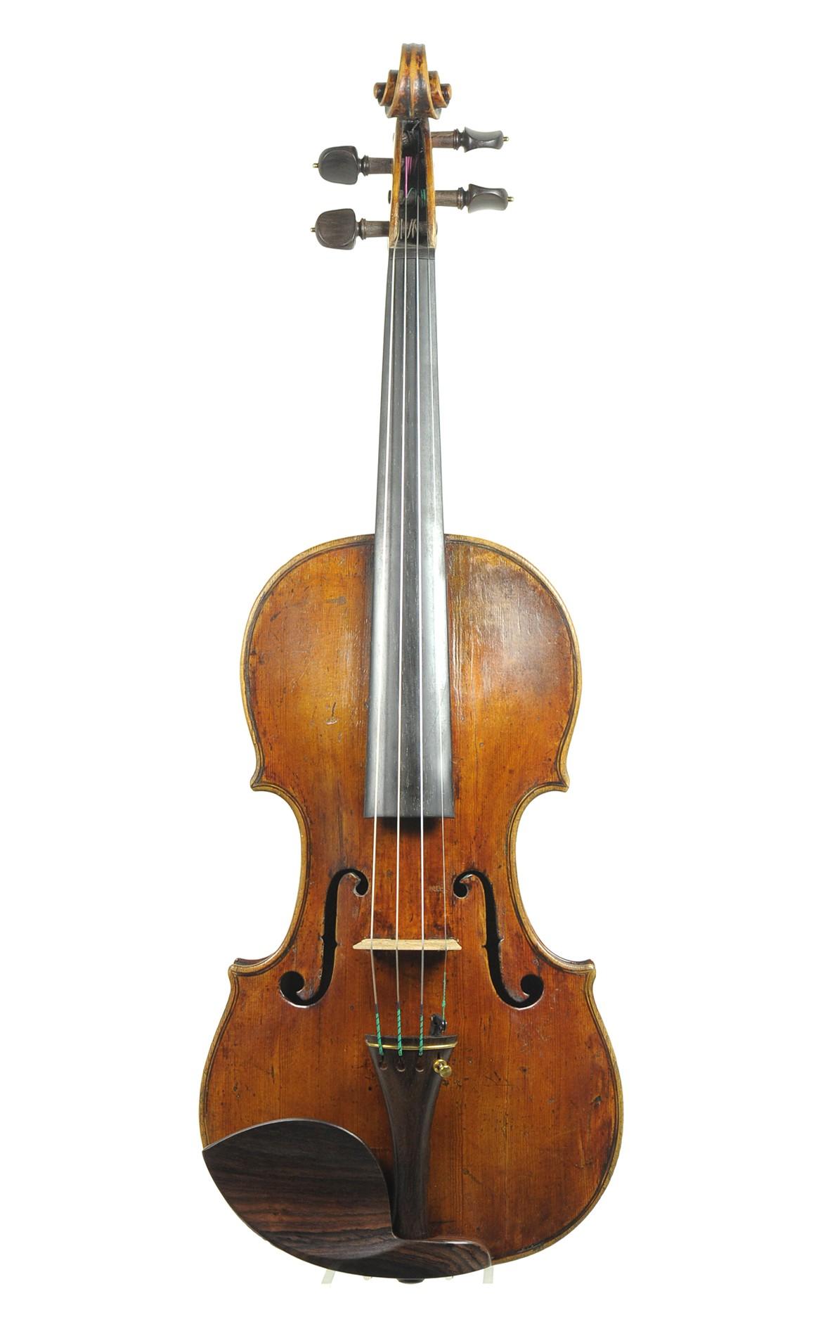 Pieter Rombouts violin circa 1720