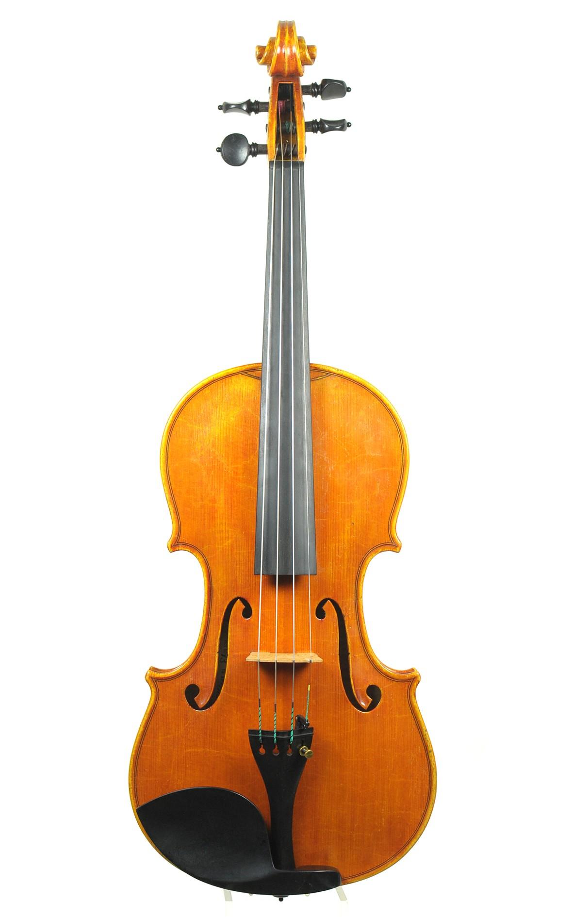 Italian violin by Primo Contavalli, 1973 (certificate by Benjamin Schröder)