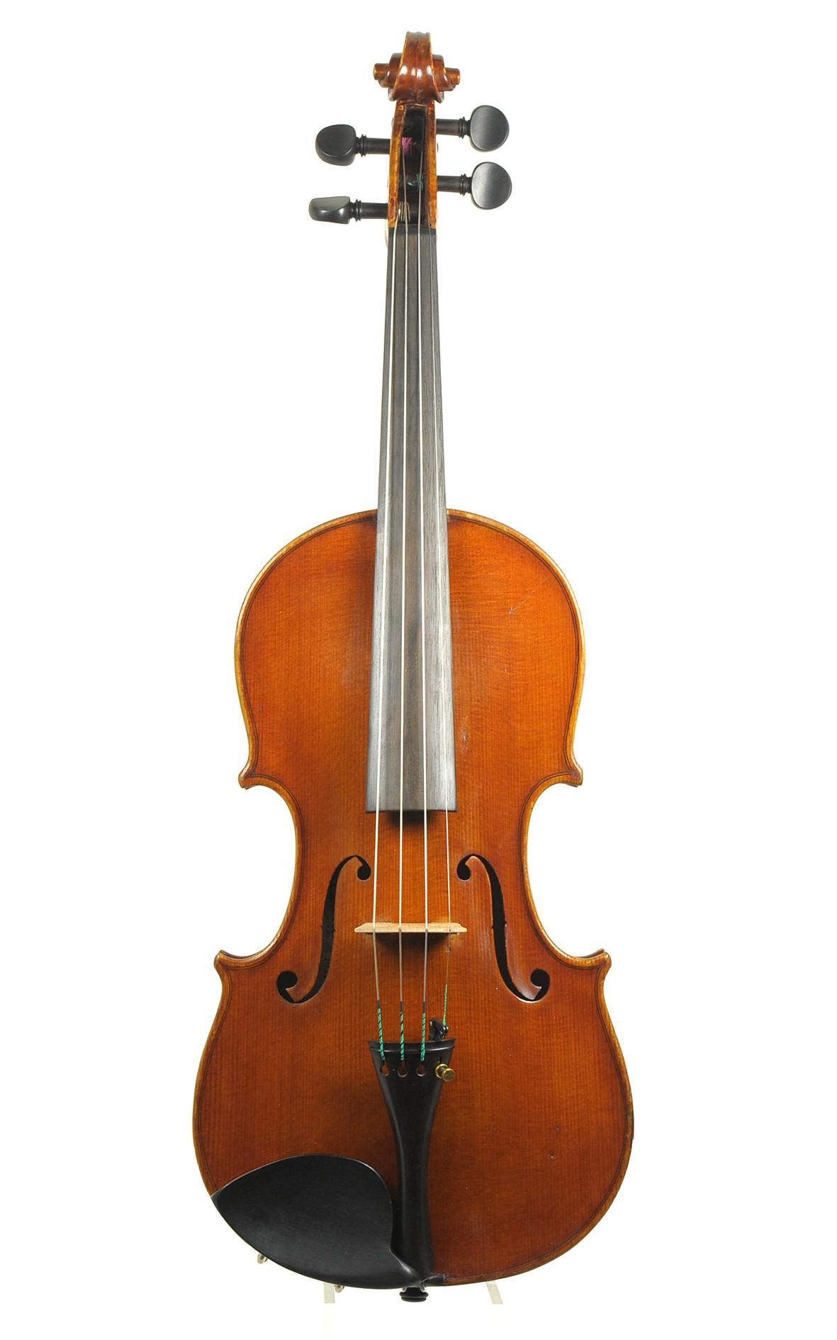 Italian violin, Officina Claudio Monteverde, Cremona, 1923