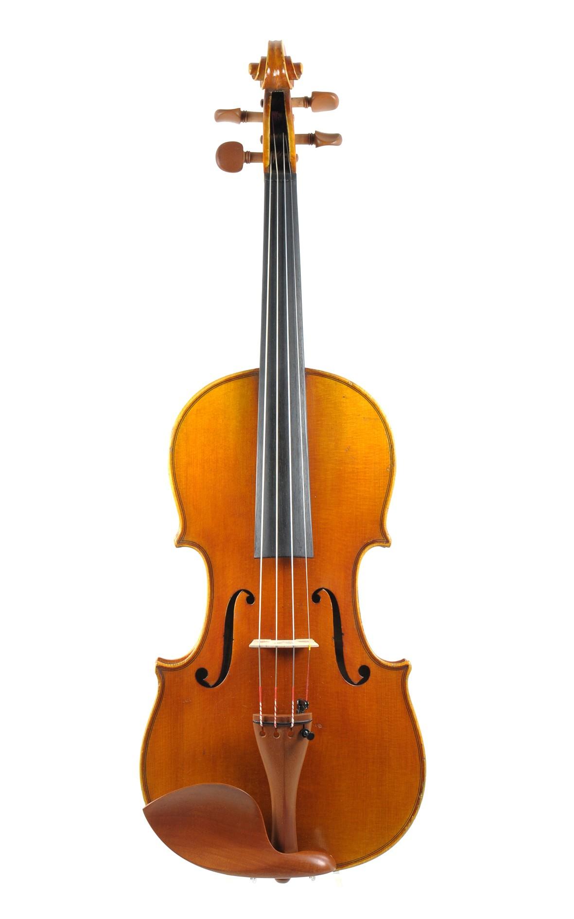 Franz Anton Hausmann, violin, approx. 1920 - top view