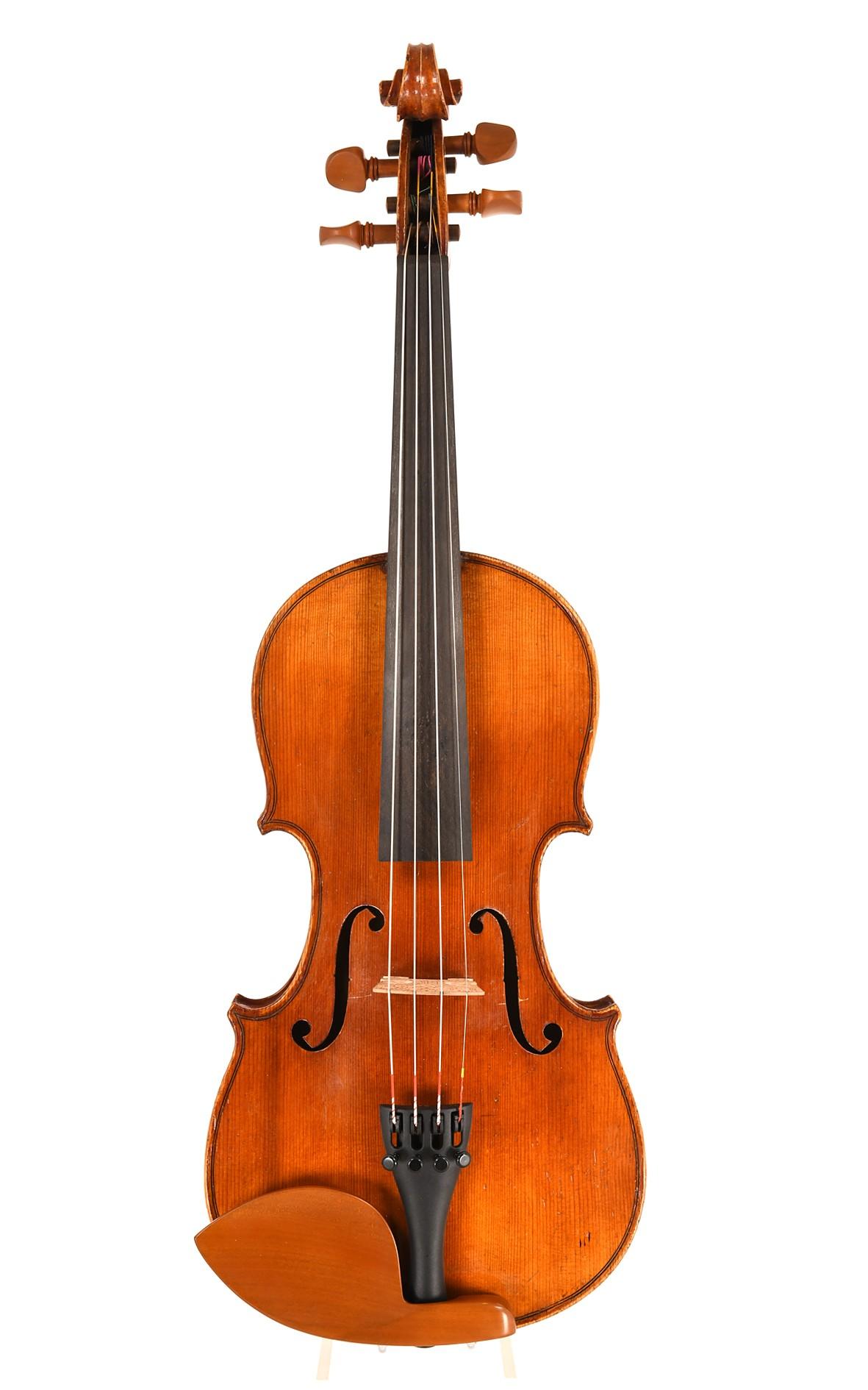 Mittenwald 3/4 violin, approx. 1880 - top