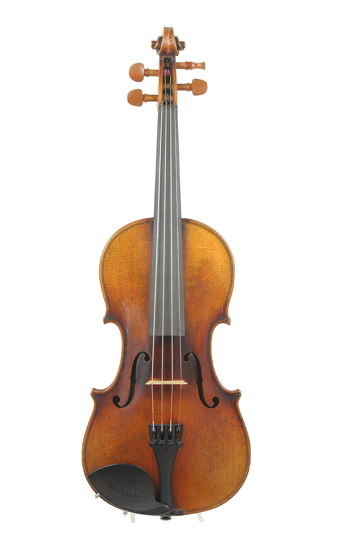 German 3/4 violin, Markneukirchen, approx. 1930 - top view