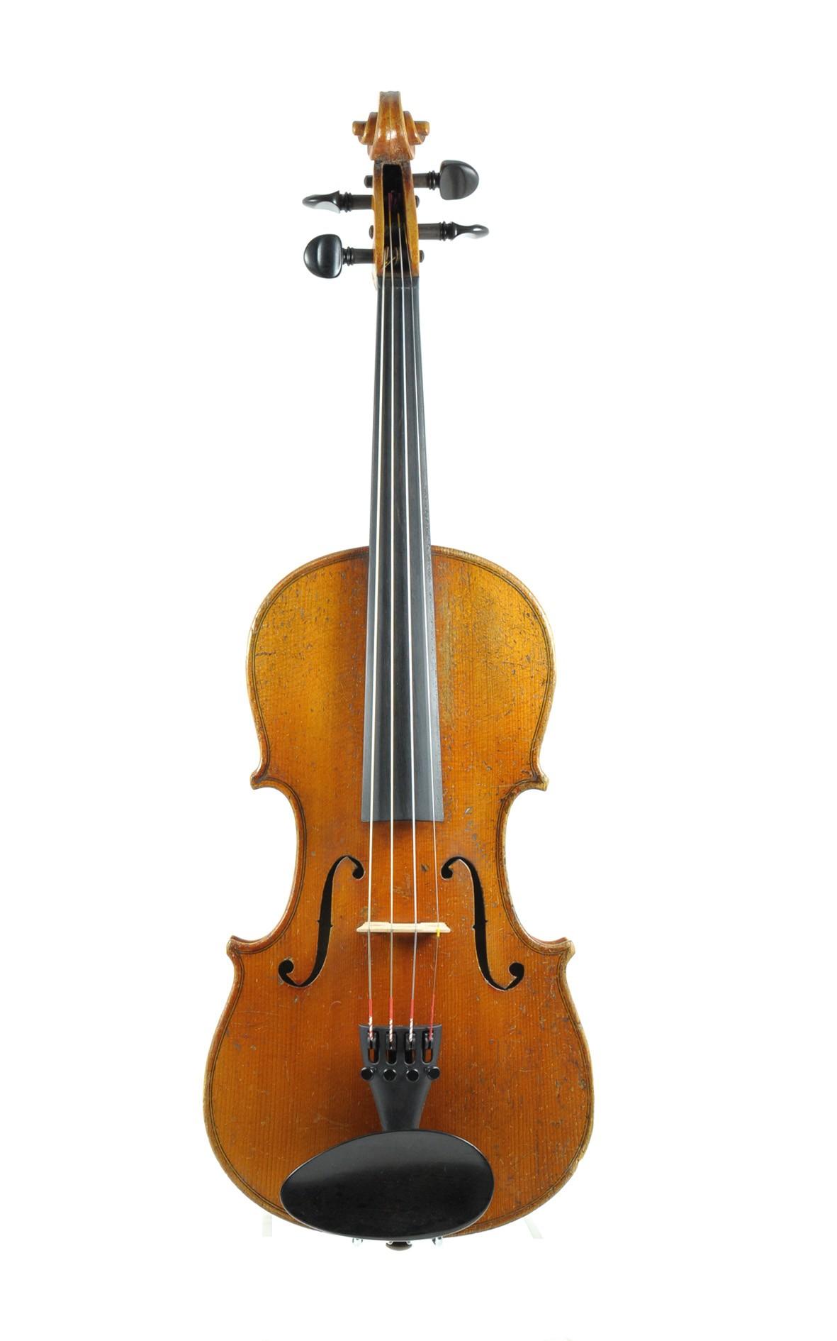 Vogtland violin Markneukirchen-Klingenthal apprxo. 1860 - table