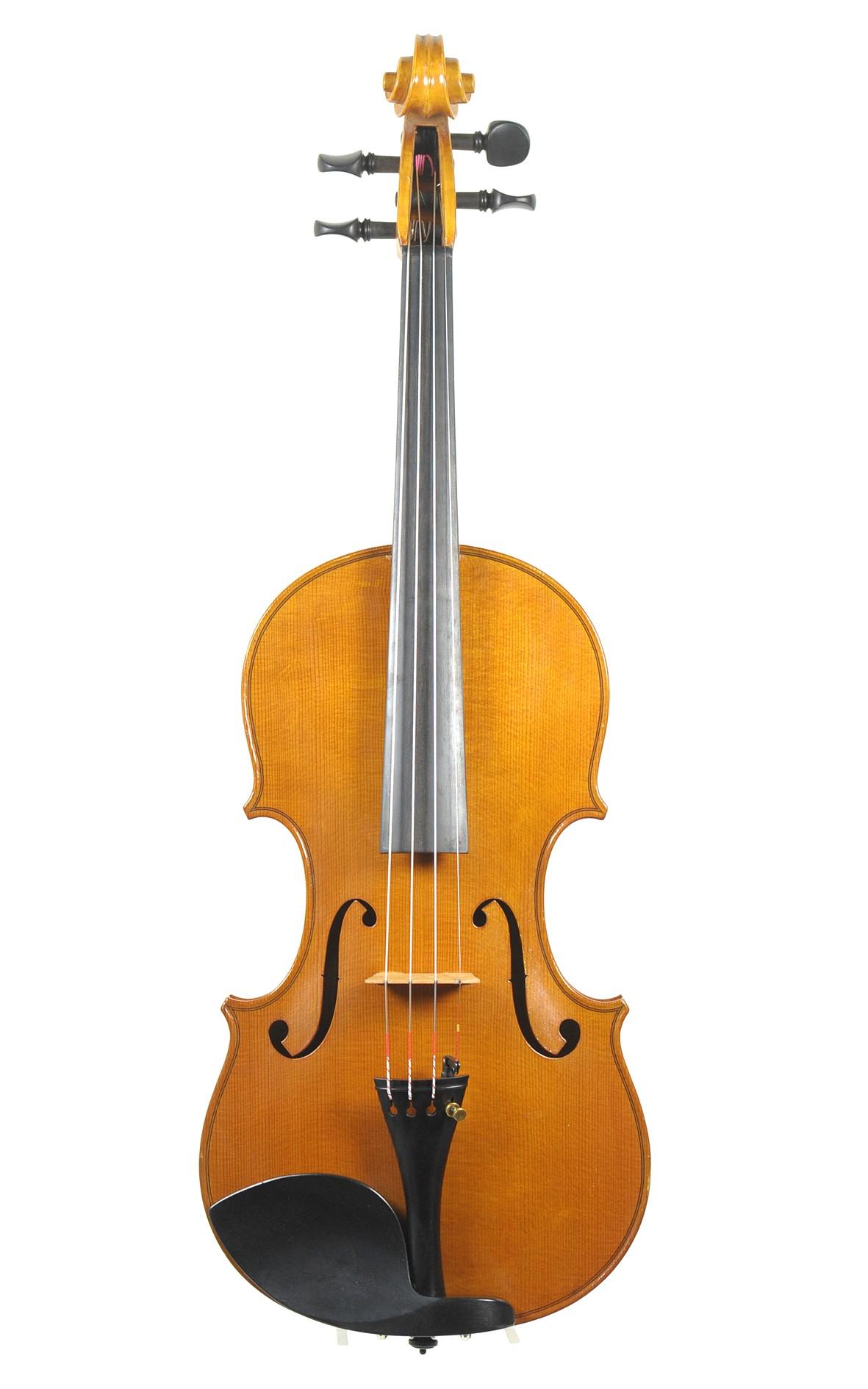 Jacques Camurat, 1958: A French Paris master violin - top
