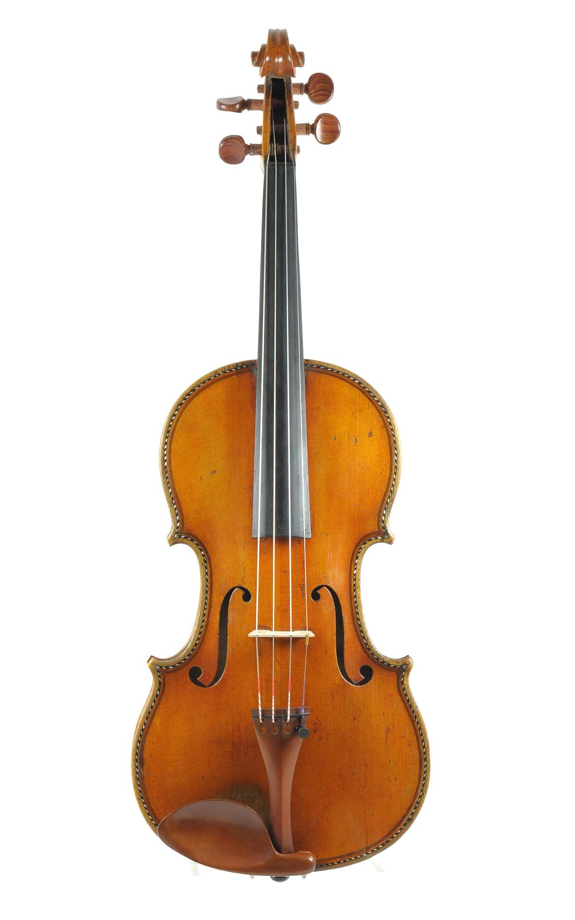Hellier Stradivari copy by François Alexis Maline