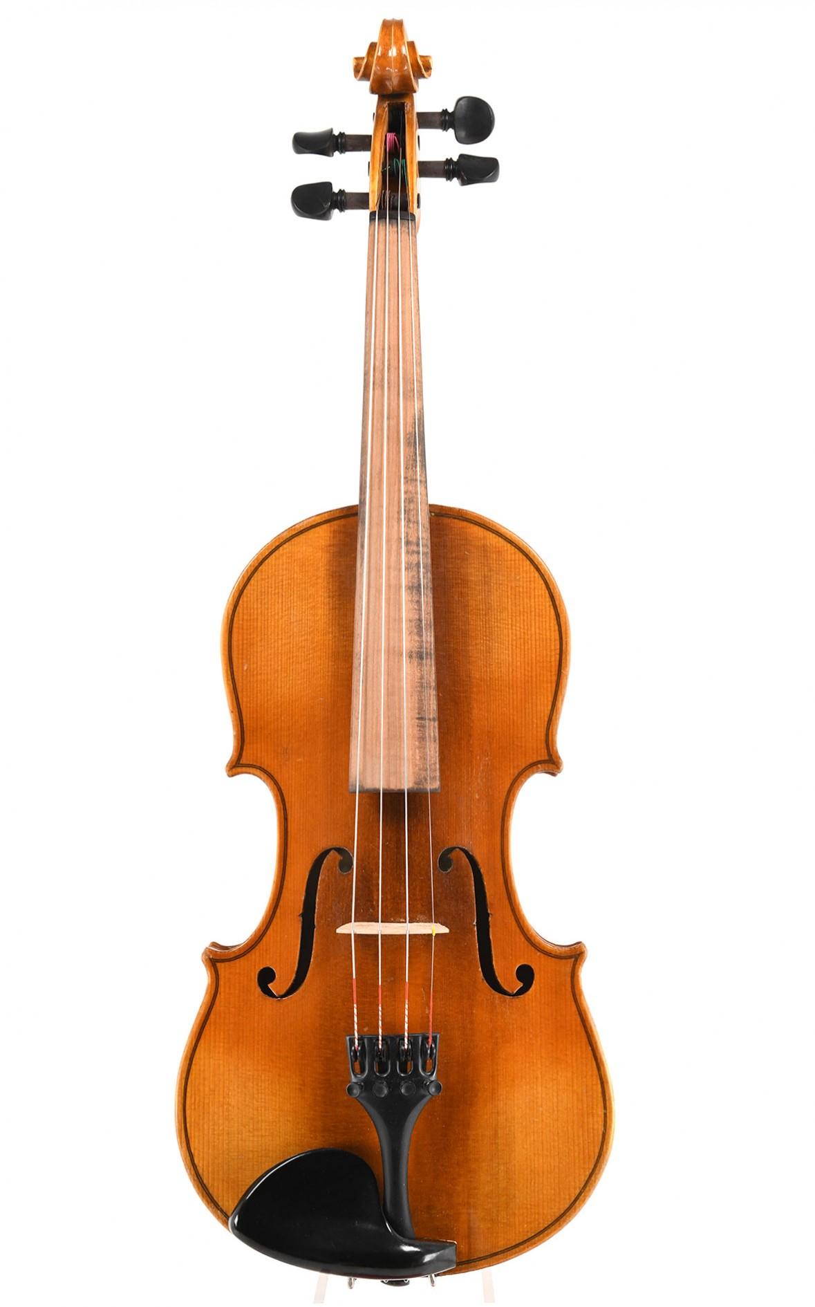 Old Saxon violin after Antonio Stradivarius