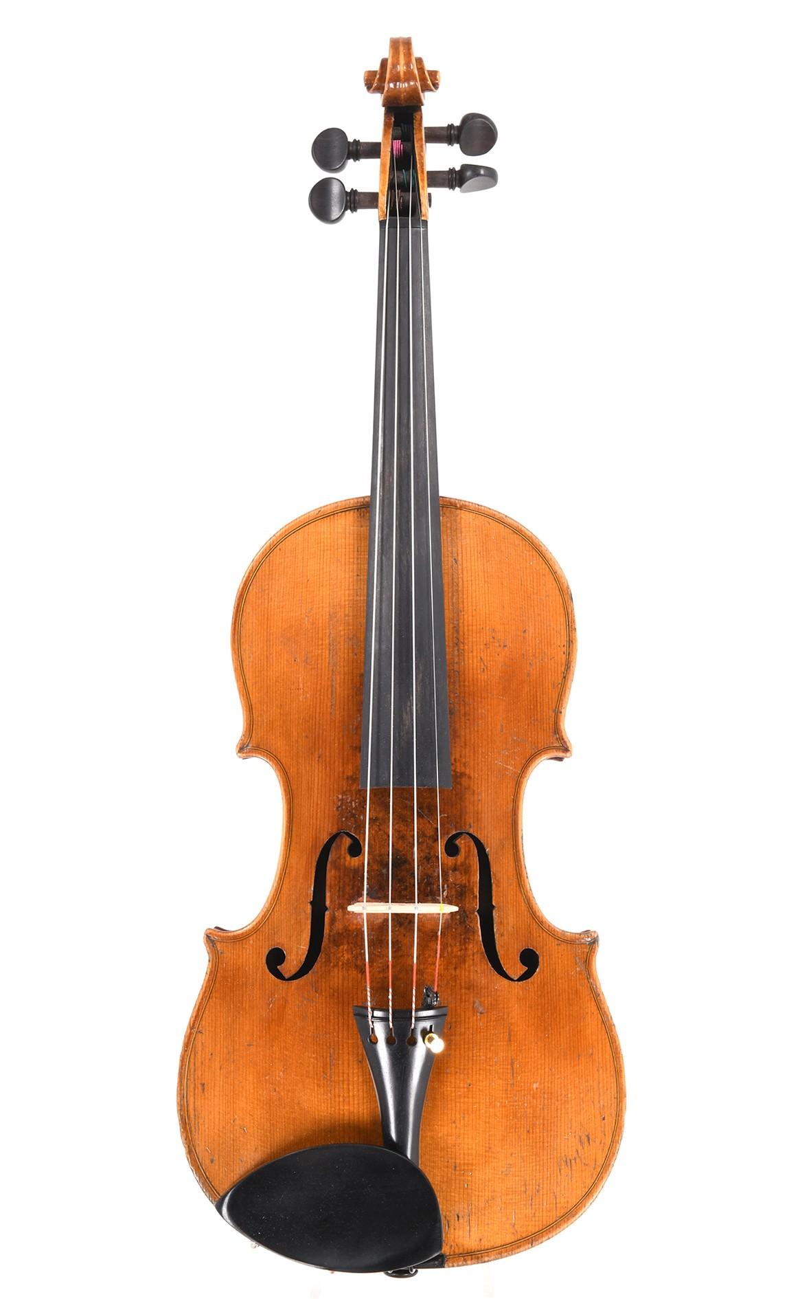 Antique violin from Saxony built around 1870