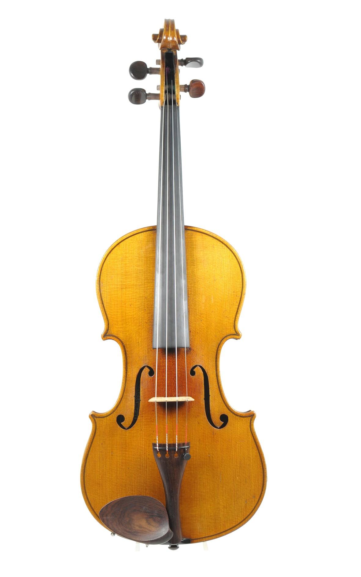 Lutherie Masspacher, French violin from Mirecourt - ????