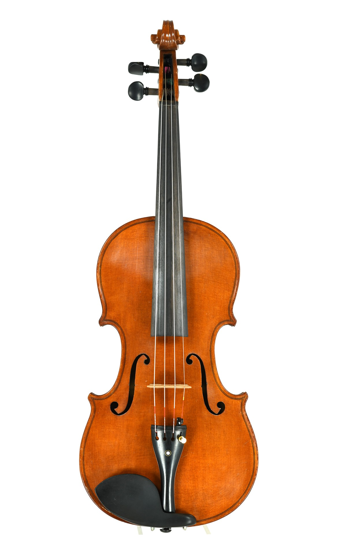 Excellent sounding modern Markneukirchen violin - top