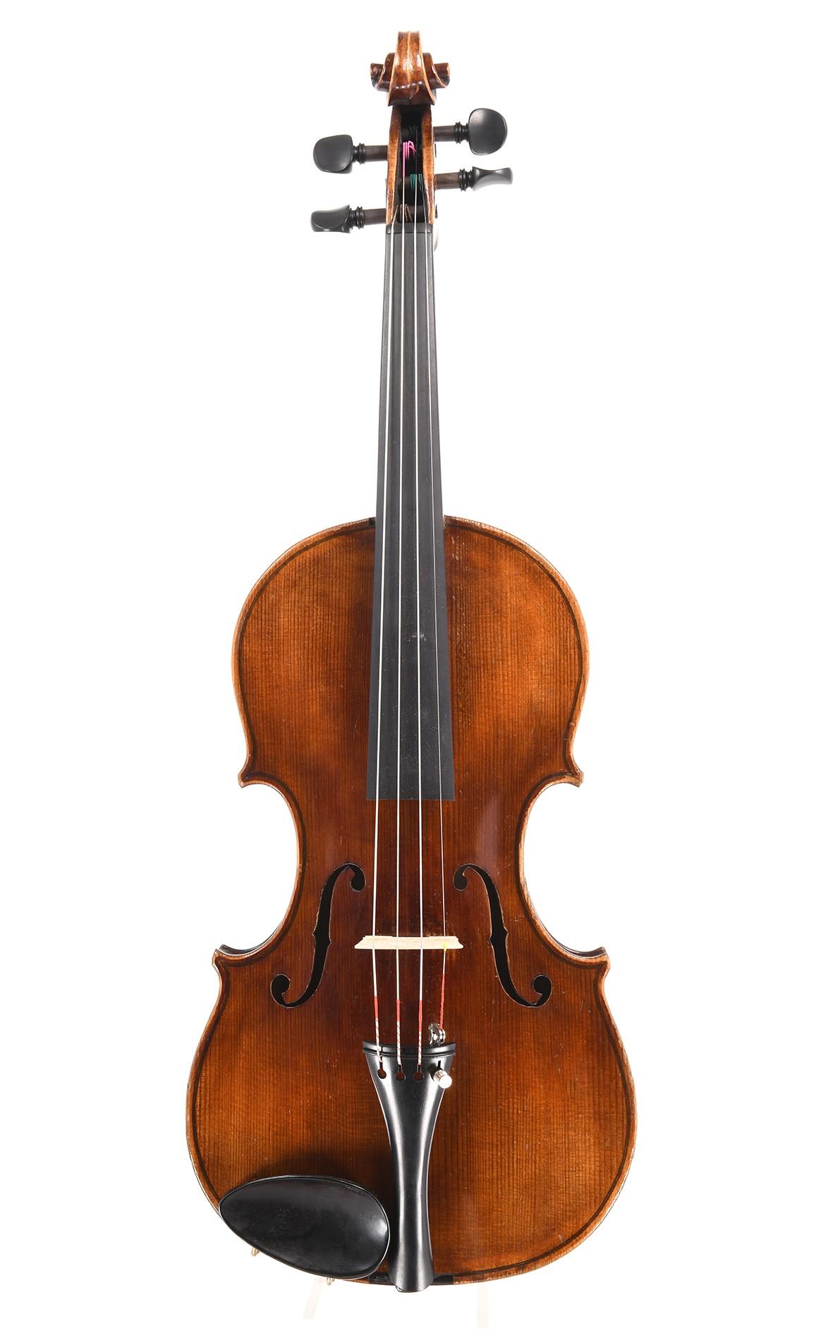 Alte sächsische Geige um 1930