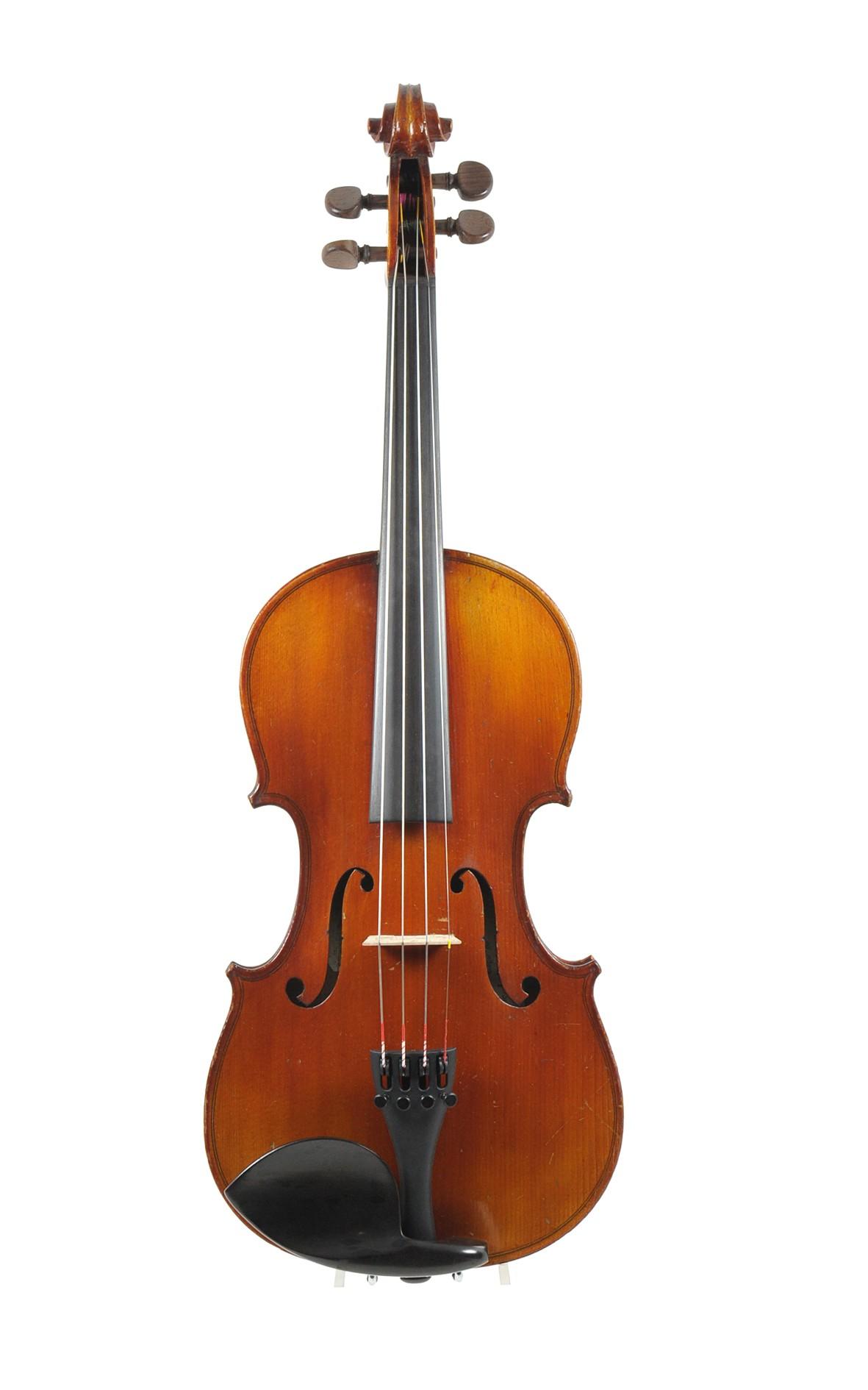 French violin, 3/4 antique Mirecourt violin - top