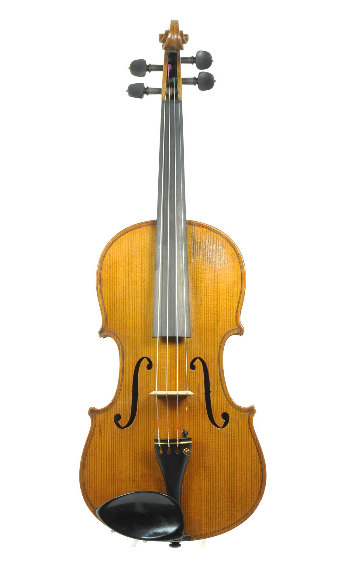 Thomas Craig, violin - table