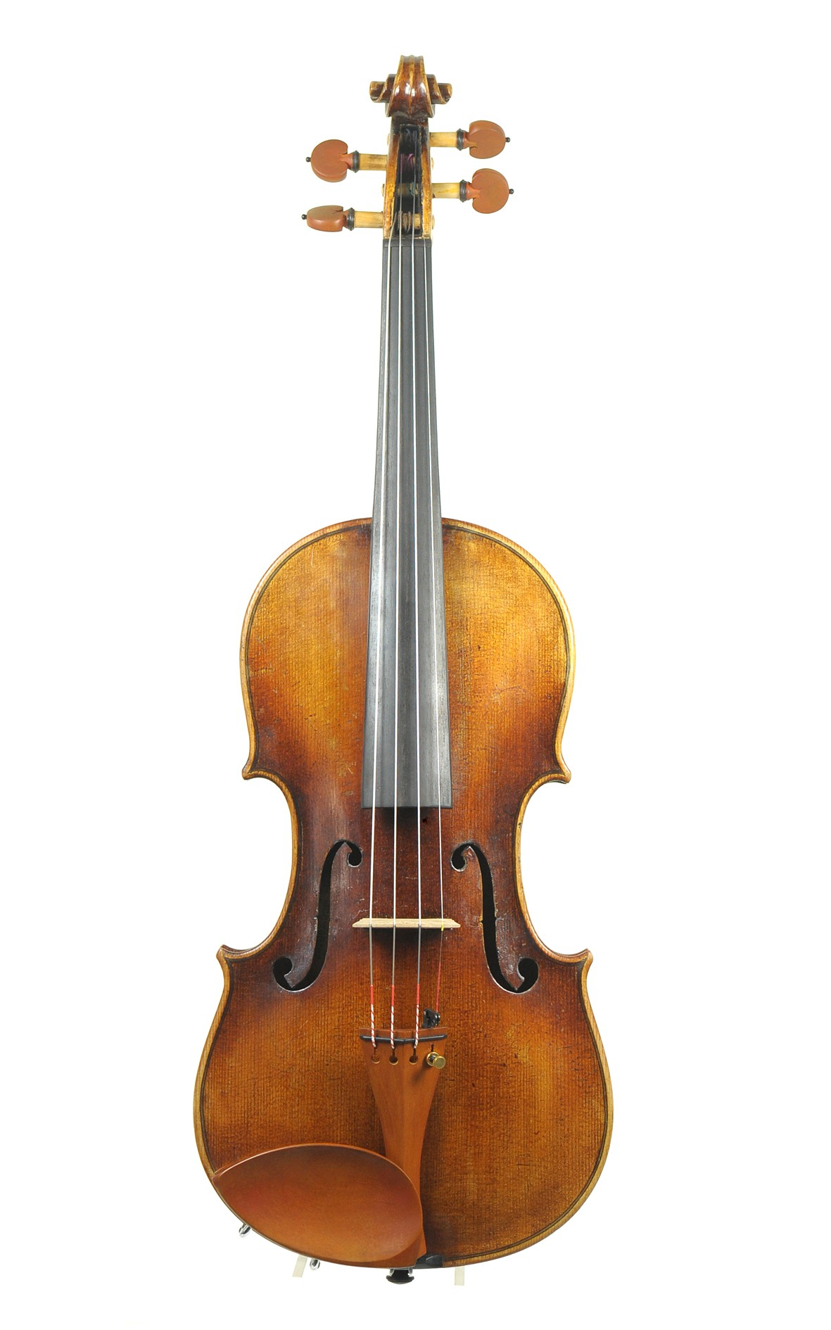 Old Saxonian violin after J.B. Schweitzer - top