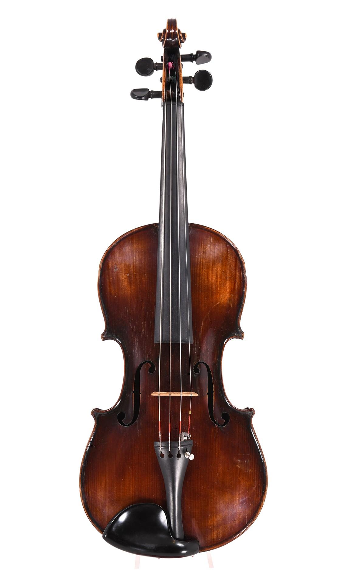 Alte Violine von Schuster & Co., Markneukirchen